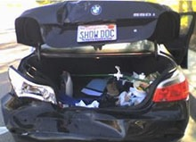 Orange County Injury Attorney, car accident, car rear ended