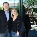 brittney risher testimonial, john p burns testimonial, orange county injury attorney
