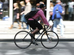 bicycle, bicycle rider, bicycling