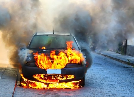what to do if your car catches on fire, car fire attorney, orange county car accident attorney